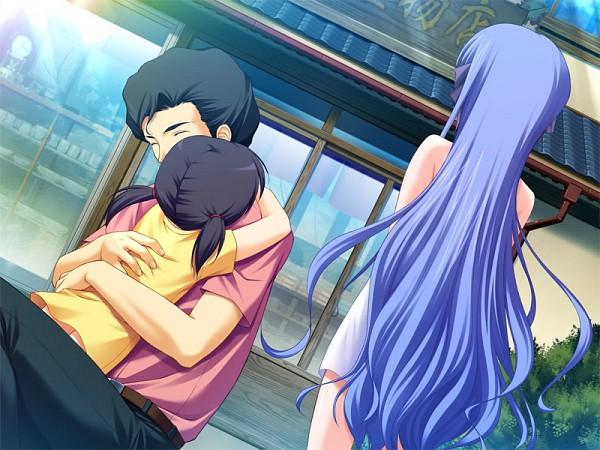 Tags: Anime, Front Wing, Hoshiuta, Yamabuki Renge, CG Art