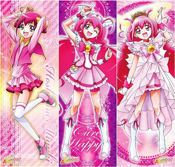 Tags: Anime, Toei Animation, Smile Precure!, Hoshizora Miyuki, Cure Happy, Official Art