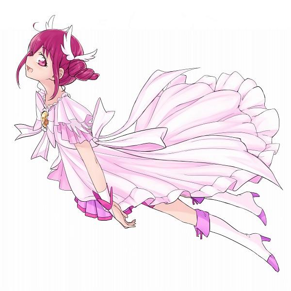 Tags: Anime, Pixiv Id 545112, Smile Precure!, Hoshizora Miyuki, Cure Happy (Cosplay), Fanart From Pixiv, Pixiv, Fanart
