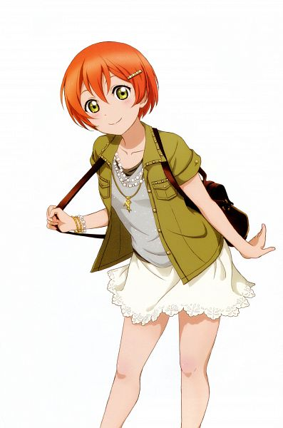 Tags: Anime, KLab, Sunrise (Studio), Love Live!, Love Live! School Idol Festival Official Illustration Book 2, Love Live! School Idol Festival, Hoshizora Rin, Mobile Wallpaper, Official Art, Scan, Rin Hoshizora