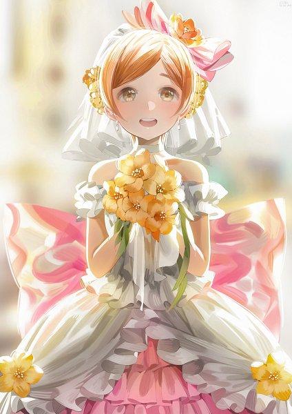 Tags: Anime, Pixiv Id 14735268, Love Live!, Hoshizora Rin, Pixiv, Love wing bell, Fanart, Fanart From Pixiv