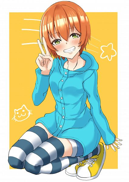 Tags: Anime, Pixiv Id 1039399, Love Live!, Hoshizora Rin, Fanart, Fanart From Pixiv, Pixiv