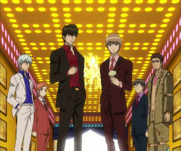 Host Club Arc - Gintama