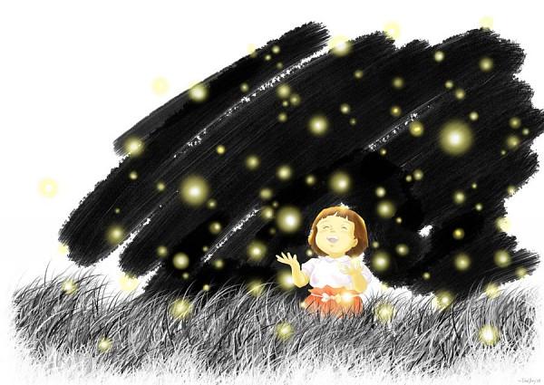 Tags: Anime, Hotaru no Haka, Setsuko (Hotaru No Haka), Fireflies, Grave Of The Fireflies