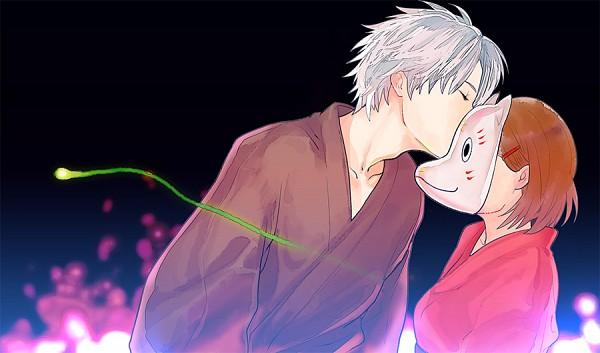 Tags: Anime, Ranmaru (Iro), Hotarubi no Mori e, Takegawa Hotaru, Pixiv, Fanart, Into The Forest Of Fireflies Light