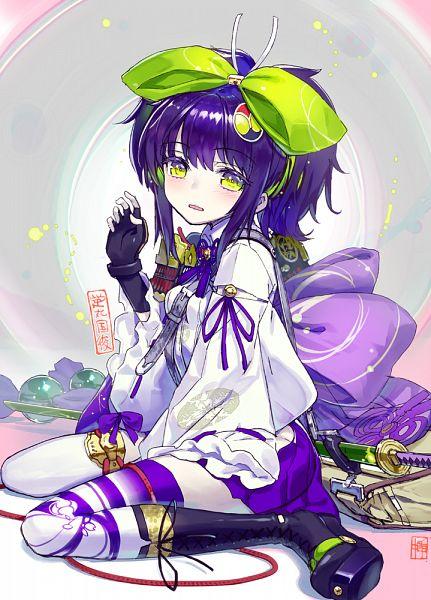 Tags: Anime, Sanbasou, DeNA, Tenka Hyakken, Hotarumaru Kunitoshi (Tenka Hyakken), Official Art