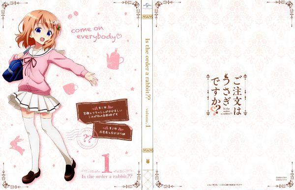 Tags: Anime, Okuda Yousuke, Kinema Citrus, WHITE FOX, Gochuumon wa Usagi Desu ka, Hoto Kokoa, Scan, DVD (Source), Official Art
