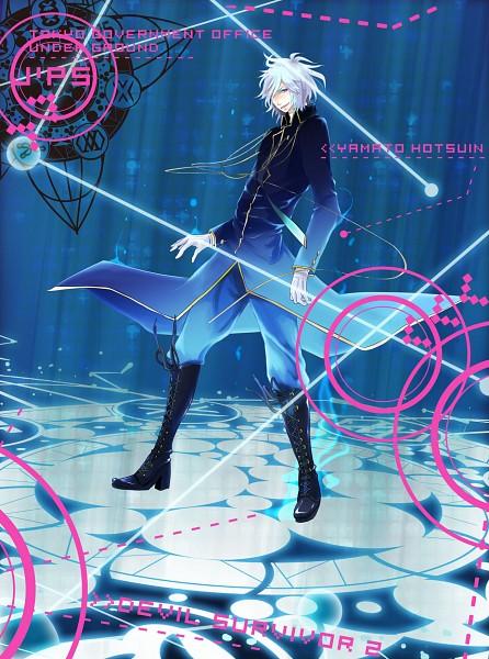 Tags: Anime, Pixiv Id 80402, Shin Megami Tensei: Devil Survivor 2, Hotsuin Yamato, Pixiv, Fanart, Fanart From Pixiv