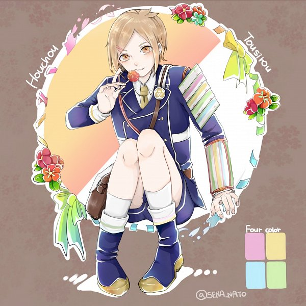 Tags: Anime, Pixiv Id 2824727, Touken Ranbu, Houchou Toushirou, Fanart, Fanart From Pixiv, Pixiv