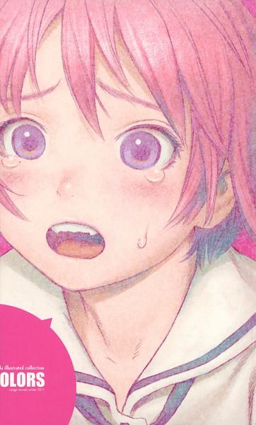 Tags: Anime, Range Murata, Shangri-La, COLORS (Range Murata), Houjou Kuniko, Scan, Artbook Cover