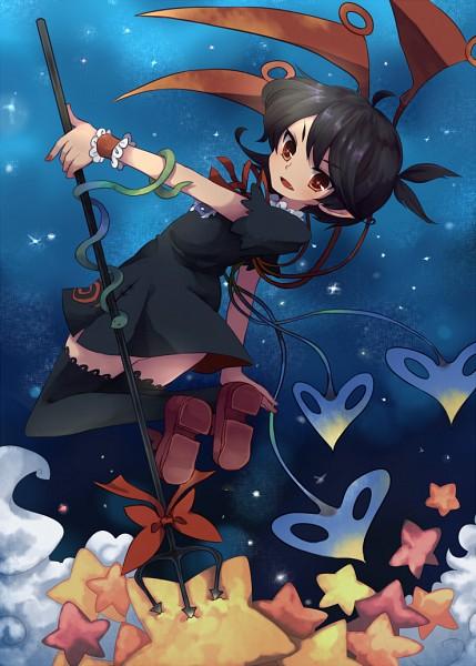 Tags: Anime, Uncle Ri Kodama, Touhou, Houjuu Nue, Fanart From Pixiv, Fanart, Pixiv, Nue Houjuu