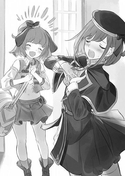 Tags: Anime, Supertie, Houkago wa Isekai Kissa de Coffee wo, Character Request, Novel Illustration, Official Art