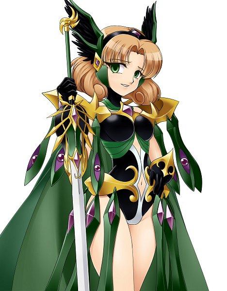 Tags: Anime, G.U., Magic Knight Rayearth, Hououji Fuu
