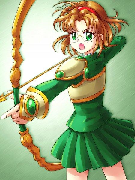 Tags: Anime, Pixiv Id 218489, Magic Knight Rayearth, Hououji Fuu, Pixiv, Wallpaper, Twitter, Fanart From Pixiv, Fanart