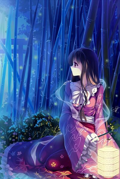 Tags: Anime, Caidychen, Touhou, Houraisan Kaguya, Pixiv, Mobile Wallpaper, Fanart From Pixiv, Fanart, deviantART, Kaguya Houraisan