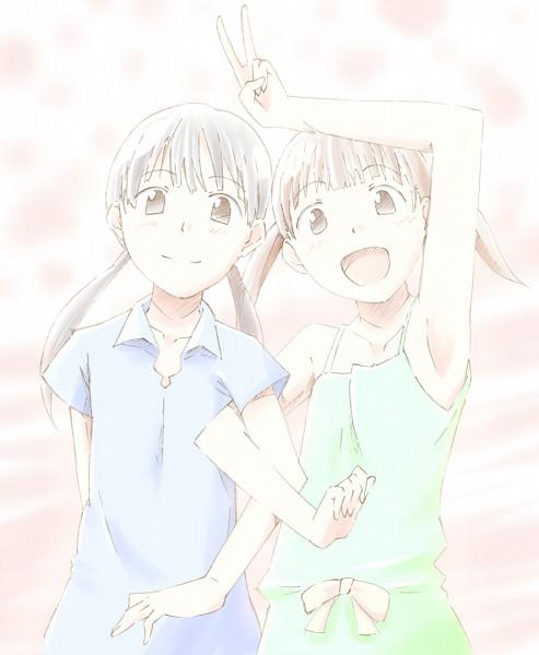 Tags: Anime, Hourou Musuko, Kanako Sasa, Chiba Saori, Wandering Son