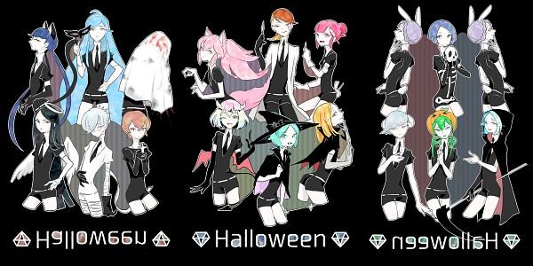 Tags: Anime, Pixiv Id 45095, Houseki no Kuni, Alexandrite (Houseki no Kuni), Goshenite (Houseki no Kuni), Yellow Diamond, Antarcticite, Euclase (Houseki no Kuni), Benitoite (Houseki no Kuni), Amethyst (Houseki no Kuni), Jade (Houseki no Kuni), Morganite (Houseki no Kuni), Neptunite (Houseki no Kuni), Land Of The Lustrous