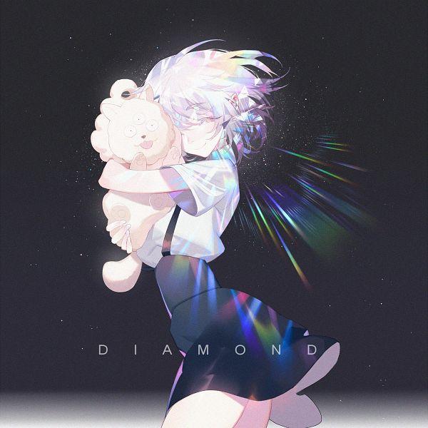 Tags: Anime, DAdonikaaaaaa, Houseki no Kuni, Diamond (Houseki no Kuni), Shiro (Houseki no Kuni), Lunarian, Fanart, Fanart From Pixiv, Pixiv, Land Of The Lustrous