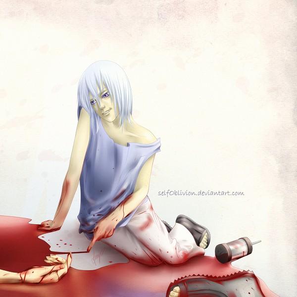 Tags: Anime, NARUTO, Houzuki Suigetsu, Puddle, Drawing (Action), deviantART, Artist Request, Team Taka