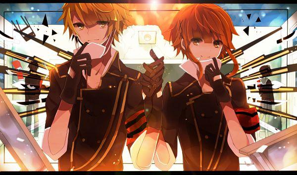 Tags: Anime, Pixiv Id 4386166, VOCALOID, Fan Character, Azuma (Sekai Seifuku), Tsuji (Sekai Seifuku), Medical Mask, Pixiv, How to Sekai Seifuku, How To Dominate The World