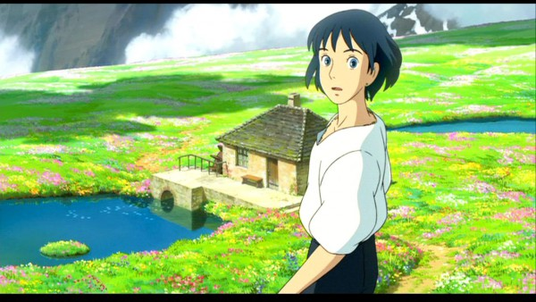 Tags: Anime, Studio Ghibli, Howl no Ugoku Shiro, Howl, Screenshot, Facebook Cover, Wallpaper