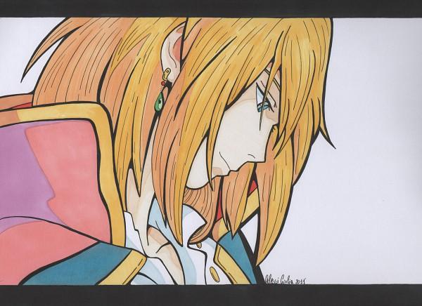 Tags: Anime, Howl no Ugoku Shiro, Howl, Artist Request