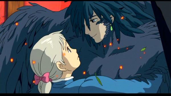 Tags: Anime, Studio Ghibli, Howl no Ugoku Shiro, Howl, Sophie Hatter, Facebook Cover, Screenshot, Wallpaper, Howl's Moving Castle