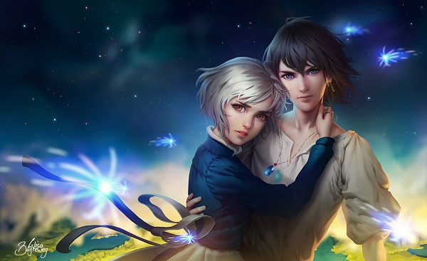 Tags: Anime, Zolaida, Howl no Ugoku Shiro, Sophie Hatter, Howl, Tumblr, Fanart From DeviantART, Fanart, deviantART, Howl's Moving Castle