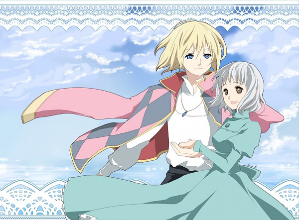 Tags: Anime, Inma R., Studio Ghibli, Howl no Ugoku Shiro, Howl, Sophie Hatter, Pixiv, Howl's Moving Castle