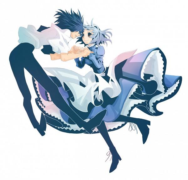 Tags: Anime, Yoshida Natsumi, Studio Ghibli, Howl no Ugoku Shiro, Howl, Sophie Hatter, Howl's Moving Castle
