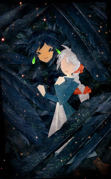 Tags: Anime, Botjira, Howl no Ugoku Shiro, Howl, Sophie Hatter, Mobile Wallpaper, Howl's Moving Castle