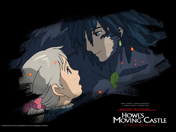 Tags: Anime, Studio Ghibli, Howl no Ugoku Shiro, Sophie Hatter, Howl, Howl's Moving Castle