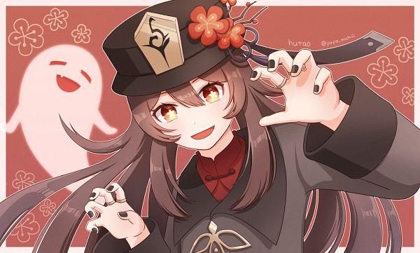 Tags: Anime, Pixiv Id 61360969, Genshin Impact, Hu Tao, Fanart From Pixiv, Pixiv, Fanart