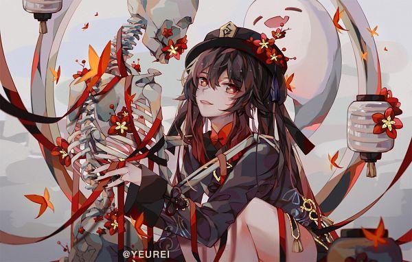Tags: Anime, Pixiv Id 8261520, Genshin Impact, Hu Tao