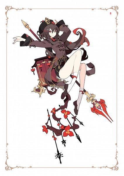 Tags: Anime, Ideolo, NEKO WORKi, Genshin Impact, Hu Tao, Pixiv, Fanart, Fanart From Pixiv