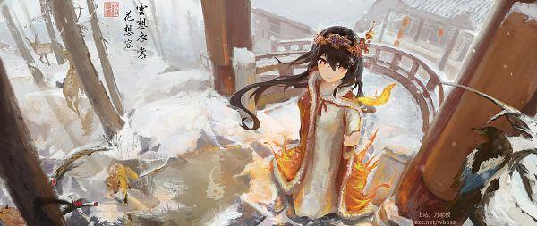 Tags: Anime, wboss, Genshin Impact, Hu Tao, Fanart From Pixiv, Pixiv, Fanart
