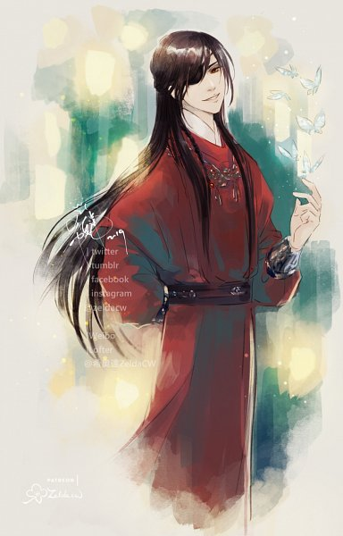 Tags: Anime, Zelda C. Wang, Tian Guan Ci Fu, Hua Cheng
