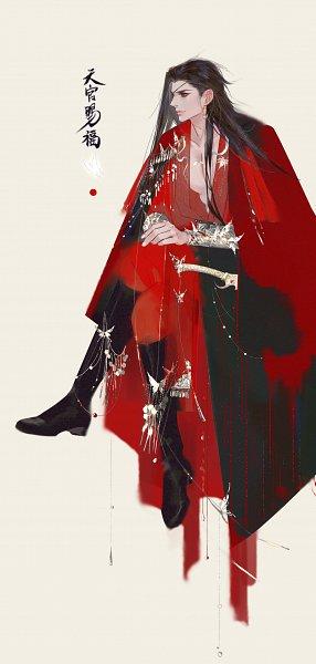 Tags: Anime, Pixiv Id 12613821, Tian Guan Ci Fu, Hua Cheng, Lofter