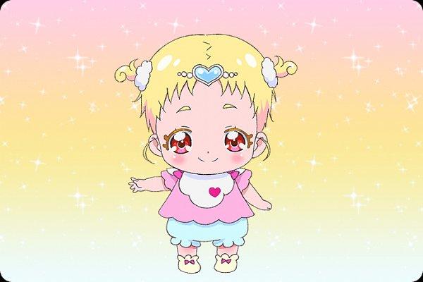 Tags: Anime, Kawamura Toshie, Toei Animation, HUGtto! Precure, Hug-tan, Official Art, Character Sheet, Cover Image