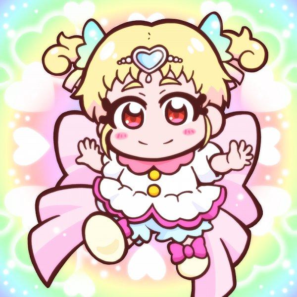 Tags: Anime, Pixiv Id 2084190, HUGtto! Precure, Hug-tan, Cheerful Style, Pixiv, Fanart, Fanart From Pixiv