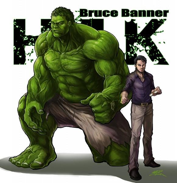 Tags: Anime, The Avengers, Bruce Banner, Hulk, Marvel