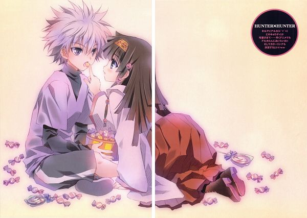 Tags: Anime, CARNELIAN, Hunter x Hunter, Benigyokuzui Vol.31, Alluka Zoldyck, Killua Zoldyck, Fanart, Comic Market 81