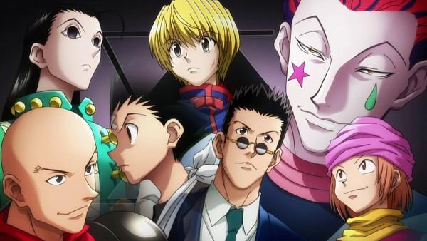 Tags: Anime, Hunter x Hunter, Hisoka, Hanzo (Hunter x Hunter), Gon Freaks, Pokkle, Kurapika, Illumi Zoldyk, Leorio Paladiknight, Hunter, Official Art, Facebook Cover, Wallpaper
