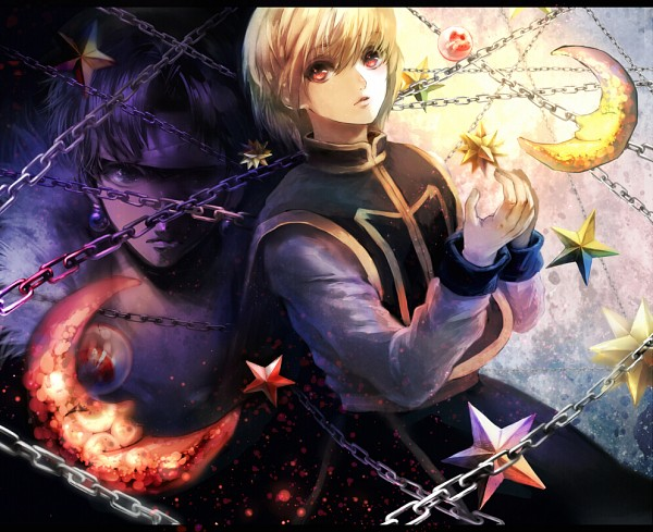 Tags: Anime, Ouri, Hunter x Hunter, Kurapika, Chrollo Lucilfer, Fanart From Pixiv, Fanart, Pixiv, Kurokura