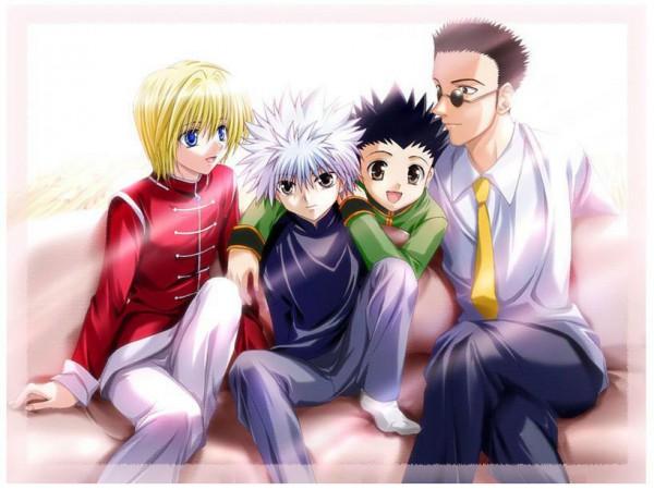Tags: Anime, Hunter x Hunter, Leorio Paladiknight, Gon Freaks, Kurapika, Killua Zoldyck, Artist Request
