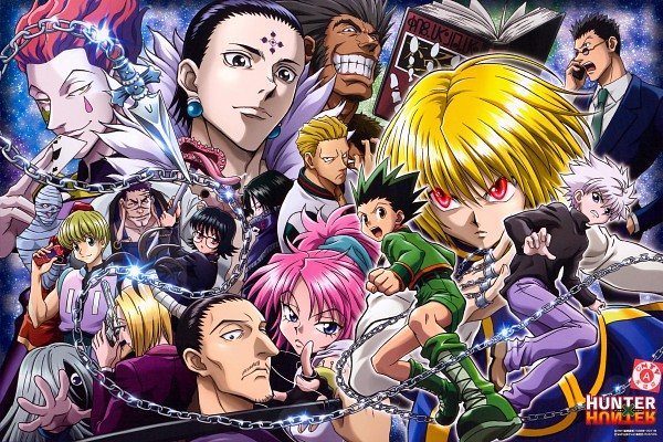 Tags: Anime, MADHOUSE, Hunter x Hunter, Uvogin, Kurapika, Franklin, Chrollo Lucifer, Shizuku (Hunter x Hunter), Killua Zoldyck, Phinks, Shalnark, Leorio Paladiknight, Pakunoda