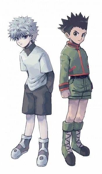 Tags: Anime, Pixiv Id 18019007, Hunter x Hunter, Killua Zoldyck, Gon Freaks, Fanart From Pixiv, Fanart, Pixiv