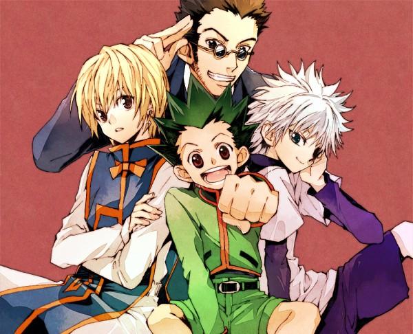 Tags: Anime, Chiyo (Rotsurechiriha), Hunter x Hunter, Killua Zoldyck, Leorio Paladiknight, Gon Freaks, Kurapika, Pixiv, Fanart