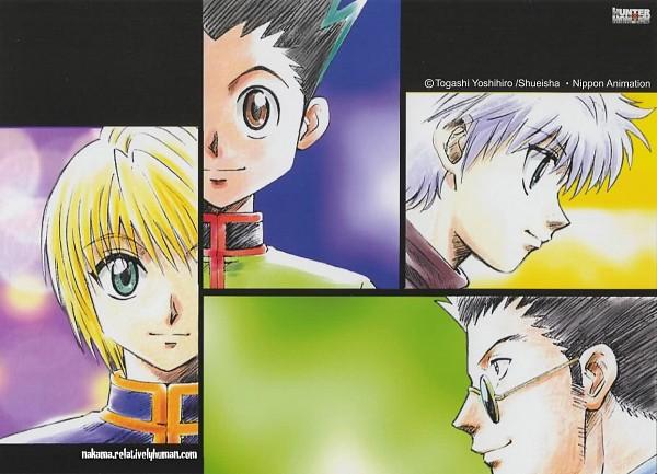 Tags: Anime, Togashi Yoshihiro, Hunter x Hunter, Killua Zoldyck, Leorio Paladiknight, Gon Freaks, Kurapika, Official Art