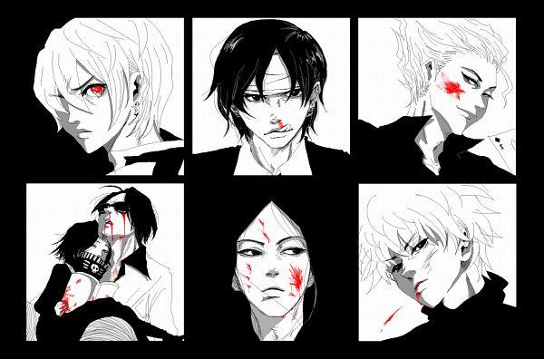 Tags: Anime, Momi, Hunter x Hunter, Hisoka, Feitan Portor, Illumi Zoldyk, Kurapika, Chrollo Lucifer, Killua Zoldyck, Face Up, Fanart, Pixiv, Zoldyck Family